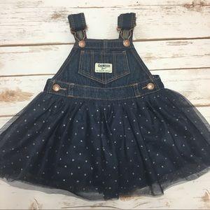 {OshKosh B'Gosh} Tulle Overall Skirt